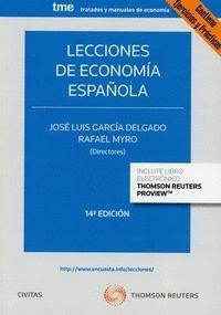 LECCIONES DE ECONOMIA ESPAÑOLA DUO