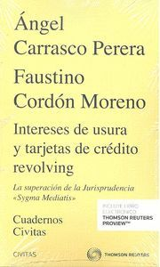 INTERESES DE USURA Y TARJETAS DE CRÉDITO REVOLVING.  (DÚO)