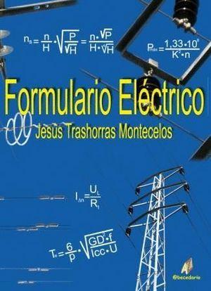 FORMULARIO ELÉCTRICO