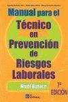 7ªED. NIV.BASICO MANUAL TECNICO PREVENCION RIESGOS LABORALES