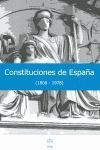 CONSTITUCIONES DE ESPAÑA (1808-1978)