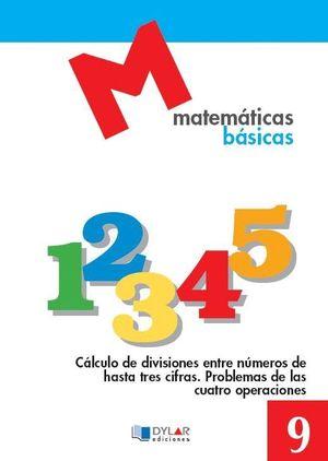 MATEMATICAS BASICAS CUADERNO 9