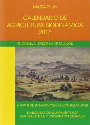 CALENDARIO AGRICULTURA BIODINAMICA 2015