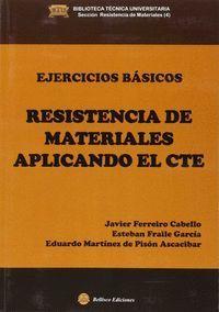 EJERCICIOS BASICOS RESISTENCIA DE MATERIALES APLICANDO EL CTE
