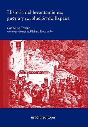 HISTORIA DEL LEVANTAMIENTO GUERRA Y REVOLUCION DE ESPAÑA