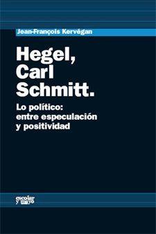 HEGEL CARL SCHMITT