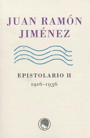 EPISTOLARIO II. 1916-1936