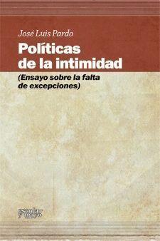 POLITICAS DE LA INTIMIDAD