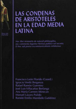 LAS CONDENAS DE ARISTOTELES EN LA EDAD MEDIA LATINA