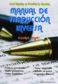 MANUAL DE TRADUCCION INVERSA ESPAÑOL-INGLES