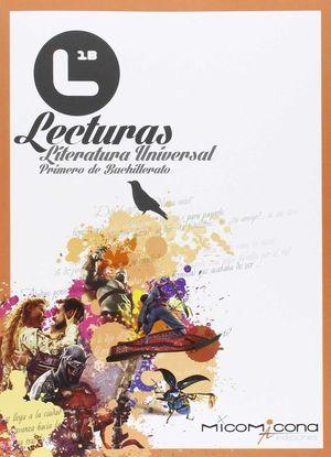 LECTURAS LITERATURA UNIVERSAL 1º BACHILLERATO