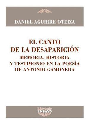 CANTO DE LA DESAPARICION