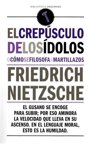 EL CREPUSCULO DE LOS IDOLOS