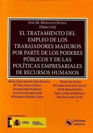 EL TRATAMIENTO DEL EMPLEO DE LOS TRABAJODRES MADUROS POR PARTE DE LOS PODERES PÚ