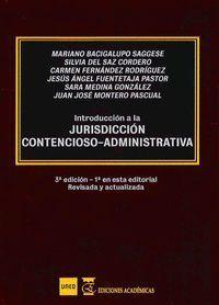 INTRODUCCIÓN A LA JURISDICCIÓN CONTENCIOSO-ADMINISTRATIVA