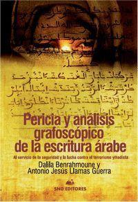 PERICIA Y ANALISIS GRAFOSCOPICO DE LA ESCRITURA ARABE