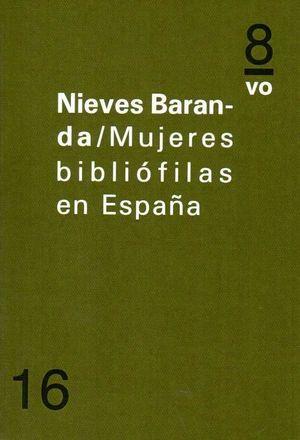 MUJERES BIBLIOFILAS EN ESPAÑA