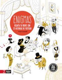 ENIGMAS (LIBRO JUEGO DE ENIGMAS)