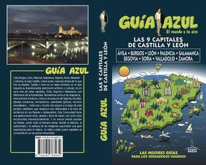 LAS 9 CAPITALES DE CASTILLA LEON (GUIA AZUL) 2017