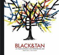 BLACK & TAN