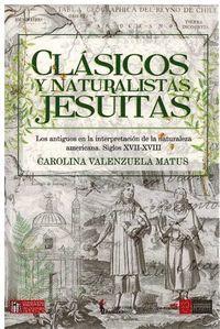 CLASICOS Y NATURALISTAS JESUITAS
