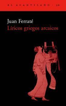 LIRICOS GRIEGOS ARCAICOS