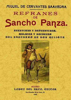 REFRANES DE SANCHO PANZA