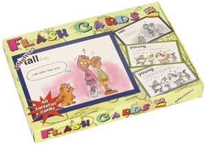 FLASH CARDS ADJETIVOS