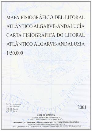 MAPA FISIOGRAFICO DEL LITORAL ATLANTICO ALGARVE-ANDALUCIA