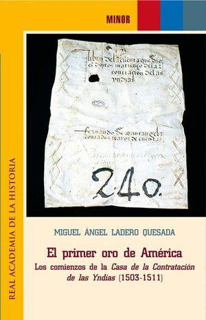 EL PRIMER ORO DE AMERICA