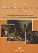 MANUAL DE HISTORIA DEL DERECHO Y DE LAS INSTITUCIONES