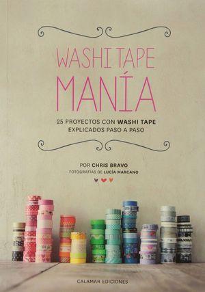 WASHI TAPE MANÍA