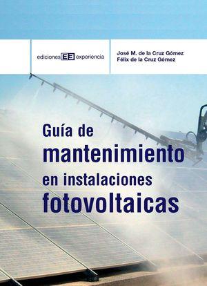 GUIA DE MANTENIMIENTO EN INSTALACIONES FOTOVOLTAICAS