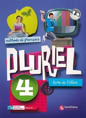 PLURIEL 4 LIVRE DE ELEVE