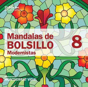 MANDALAS DE BOLSILLO 8 MODERNISTAS