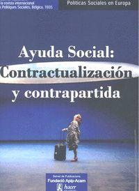 AYUDA SOCIAL: CONTRACTUALIZACION Y CONTRAPARTIDA
