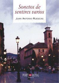 SONETOS DE SENTIRES VARIOS