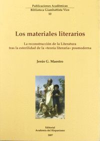 LOS MATERIALES LITERARIOS