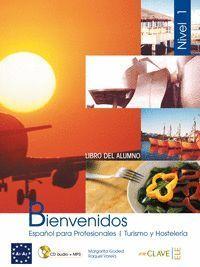 BIENVENIDOS 1 - LIBRO DEL ALUMNO + CD AUDIO