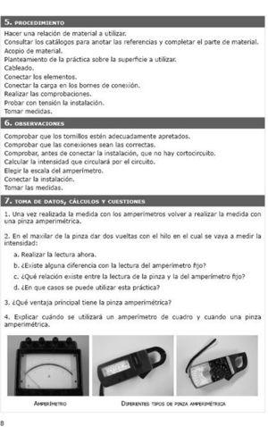 PRACTICAS DE ELECTRICISTA DE MANTENIMIENTO