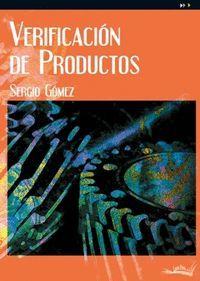 VERIFICACION DE PRODUCTOS (CF - FABRICACION MECANICA)
