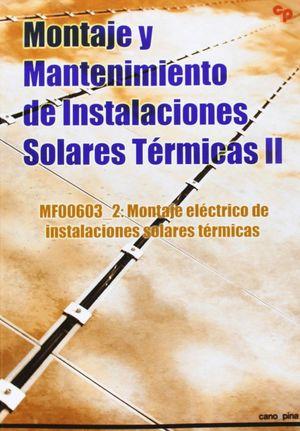 MONTAJE Y MANTENIMIENTO DE INSTALACIONES SOLARES TERMICAS II