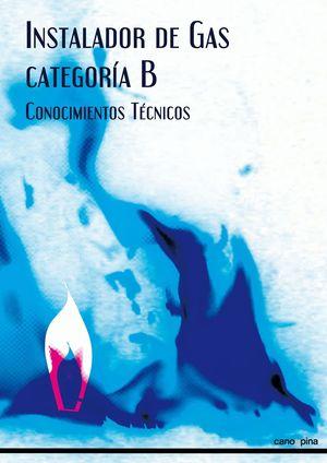INSTALADOR DE GAS CATEGORIA B