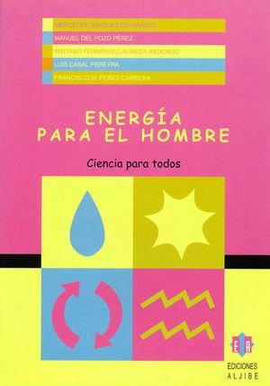 CUADERNO ENERGIA PARA EL HOMBRE