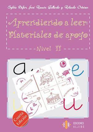 APRENDIENDO A LEER 2 MATERIALES DE APOYO (ESPIRAL)