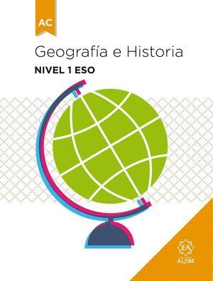 GEOGRAFIA E HISTORIA 1º ESO ADAPTACION CURRICULAR 2016