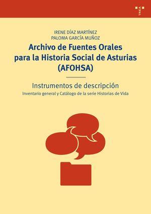 ARCHIVO DE FUENTES ORALES PARA LA HISTORIA SOCIAL DE ASTURIAS (AFOHSA)
