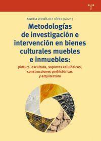 METODOLOGÍAS DE INVESTIGACIÓN E INTERVENCIÓN EN BIENES CULTURALES MUEBLES E INMUEBLES