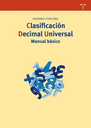 CLASIFICACION DECIMAL UNIVERSAL