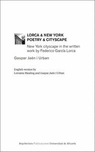 LORCA & NEW YORK. POETRY & CITYSCAPE
